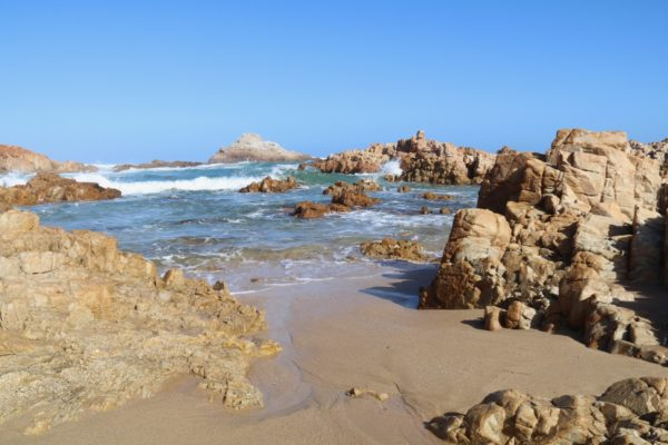 Stunning coastline along the Garden Route, South Africa