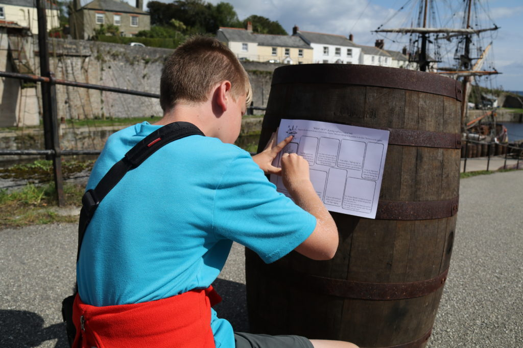 Following the 'What Am I?' trail at Charlestown Harbour