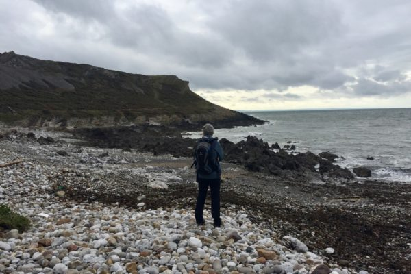 Walking the Wales Coastal Path on the Gower