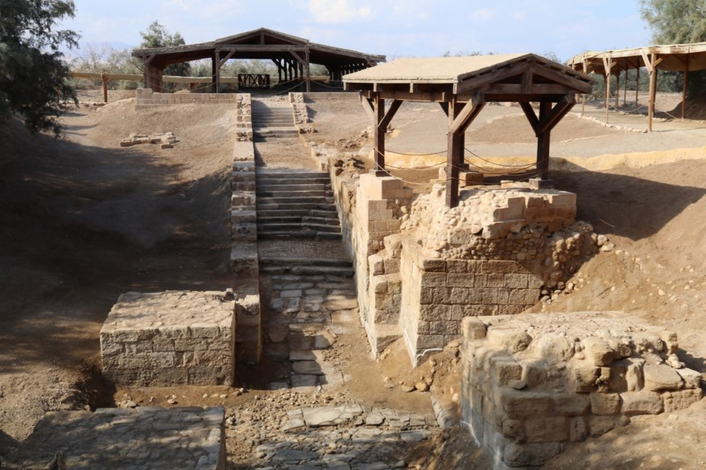 The baptism site of Jesus at Bethany-beyond-the-Jordan