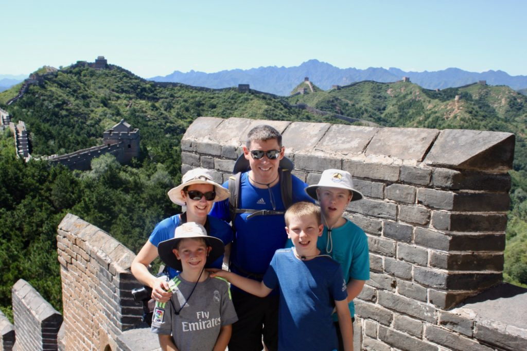 Hiking the Great Wall of China with kids - Go Live Young