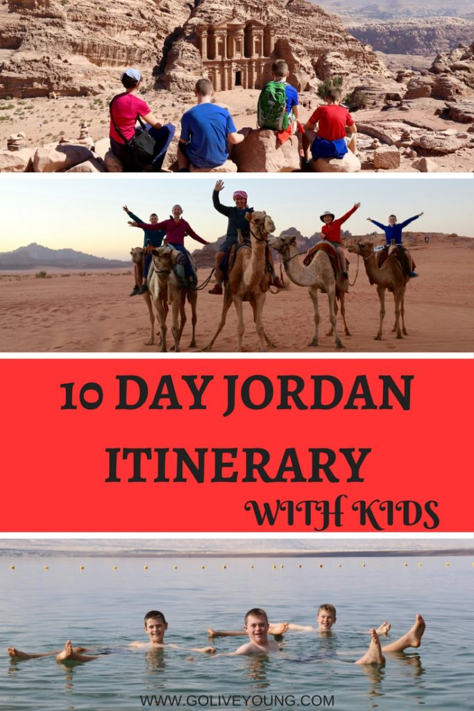 10 Day Jordan Itinerary with Kids