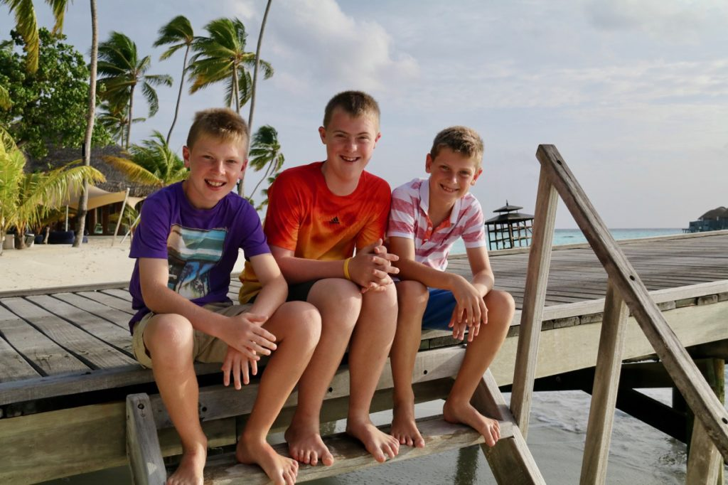 Family friendly Constance Haleveli in the Maldives