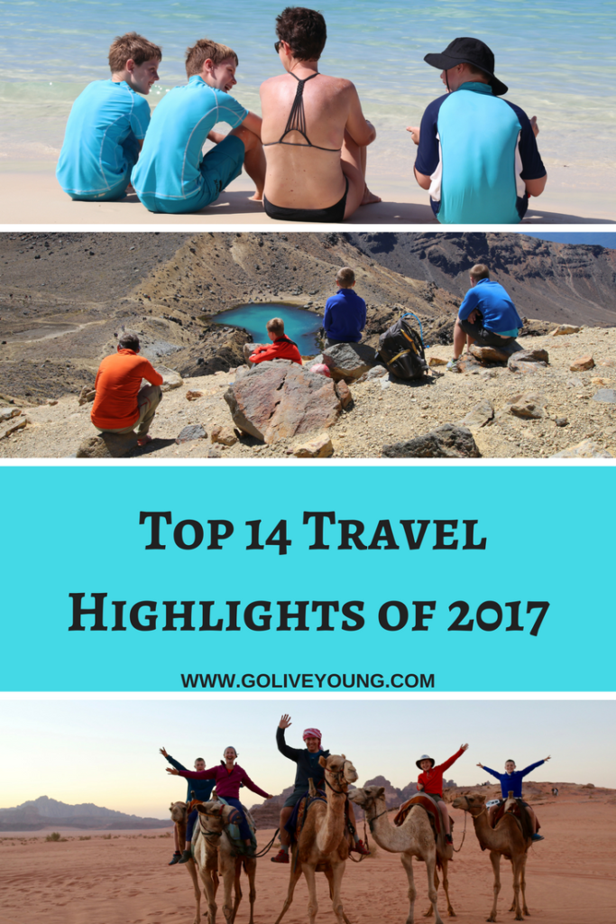 Our top fourteen travel highlights of 2017