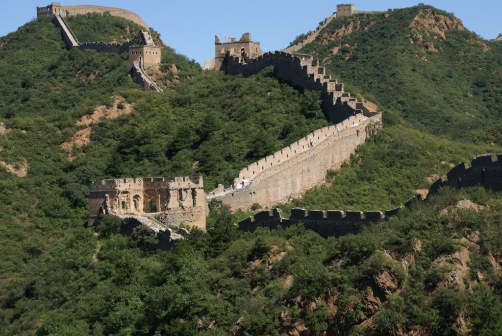 Hiking The Great Wall Of China With Kids Simatai West To